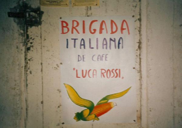 1986 Brigata caffè Nicaragua