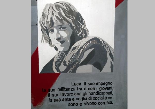 Luca - murale Itsos