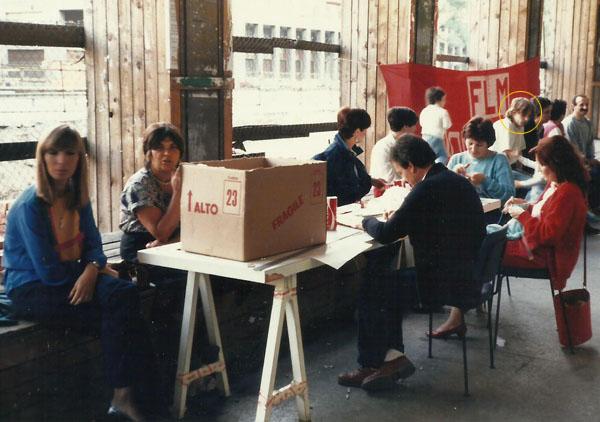 Luca sindacato 1985- Via Vittor Pisani