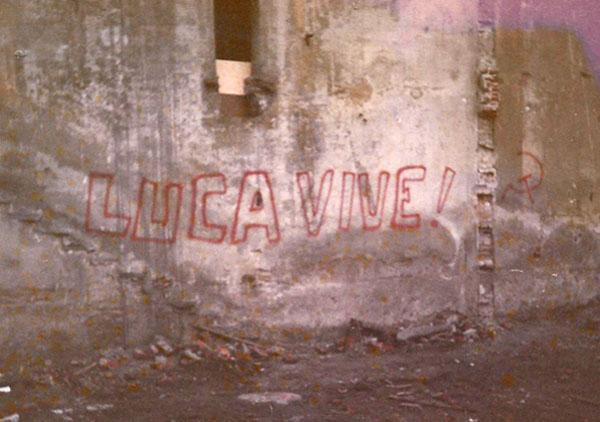 Scritta su un muro