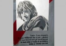 Luca - murale Itsos - 30 per Luca