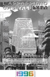 1996 Locandina decennale Sqott