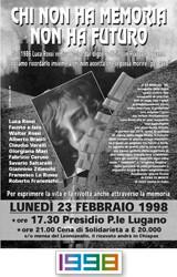 1998 Cena al Leoncavallo