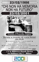 2001 I CentoPassi