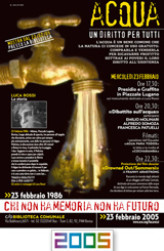 2005 Locandina Acqua