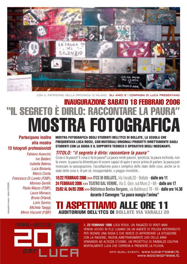 2006 Locandina 20 Mostra_bollate