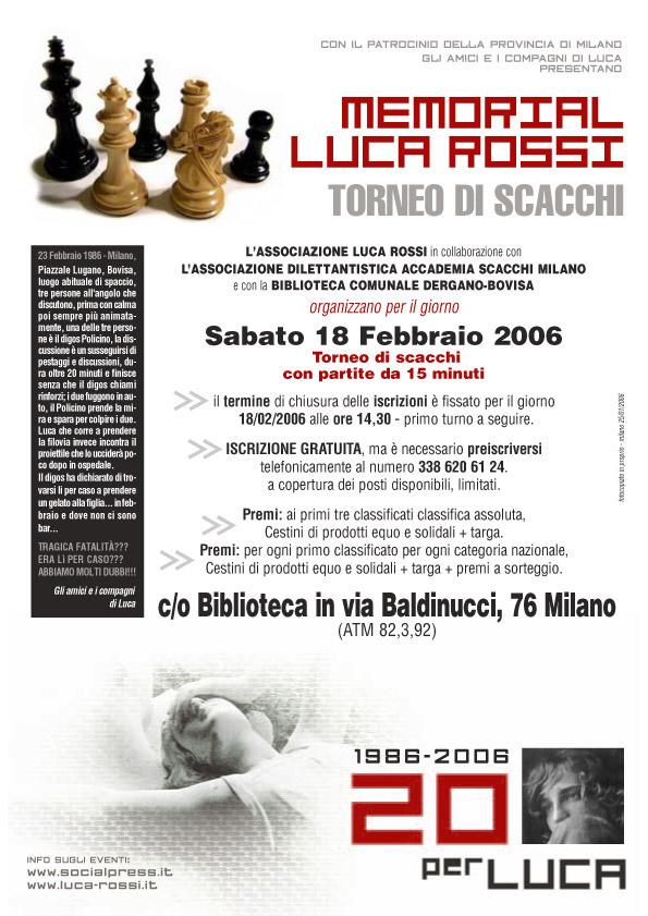 2006 Locandina 20 Scacchi