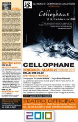 2010 Spettacolo Cellophane