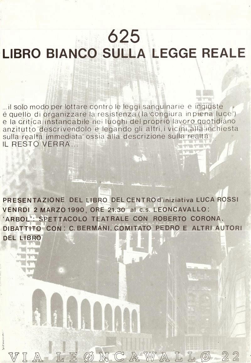 1990 Presentazione Leoncavallo