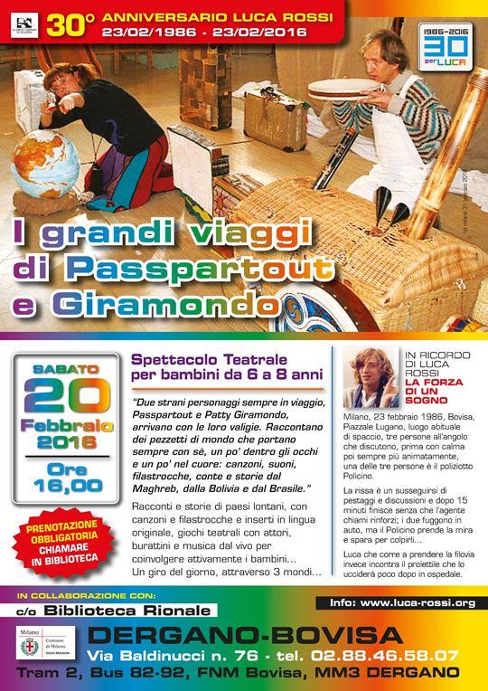 Spettacolo Teatro Bimbi_2016 - passepartout e giramondo