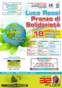 Luca Rossi - Pranzo 2018 e presentazione romanzo Fame