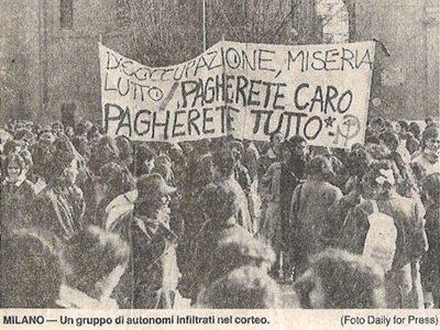 La storia – Corsera 26 febbraio 1986